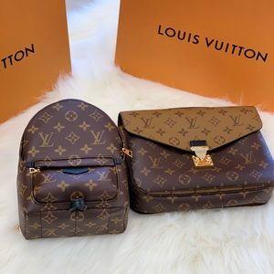 Louis Vuitton Pochette Métis Rev & PalmSpring mini